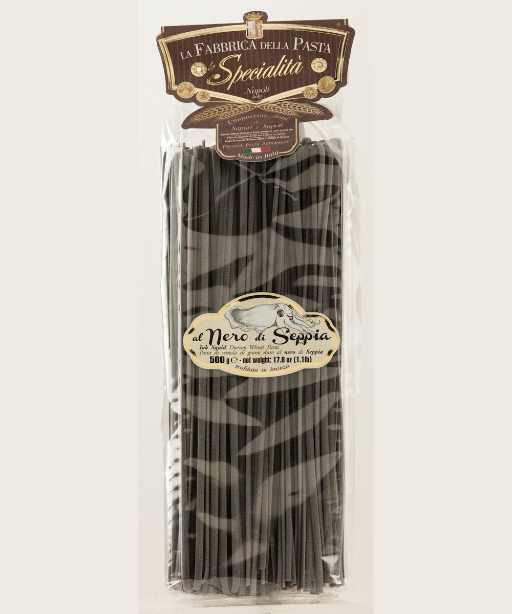 Squid Ink Linguine (500 gr.)
