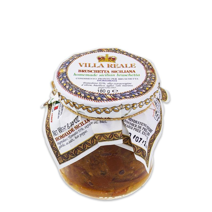 Homemade Sicilian Bruschetta (180 gr.)
