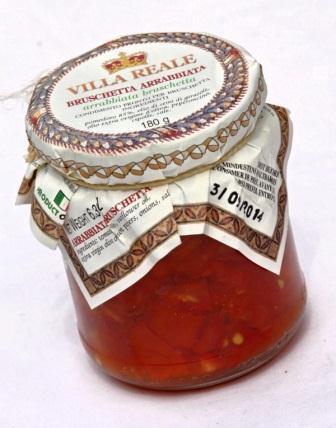 Arrabbiata Bruschetta (180 gr.)
