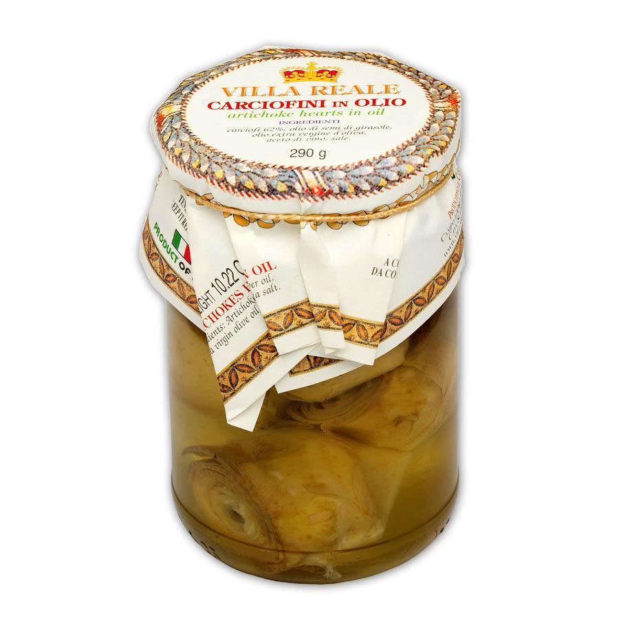Artichoke Hearts in Oil (290 gr.)