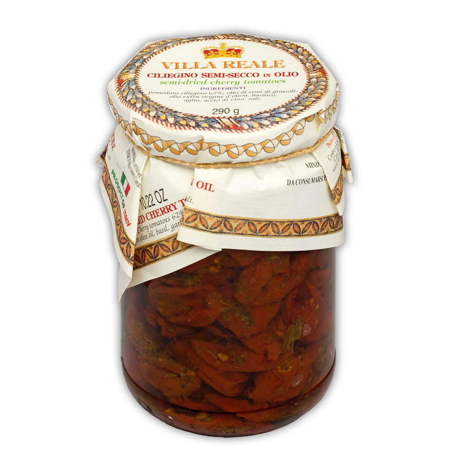 Semi-dried Cherry Tomatoes in Oil (290 gr.)