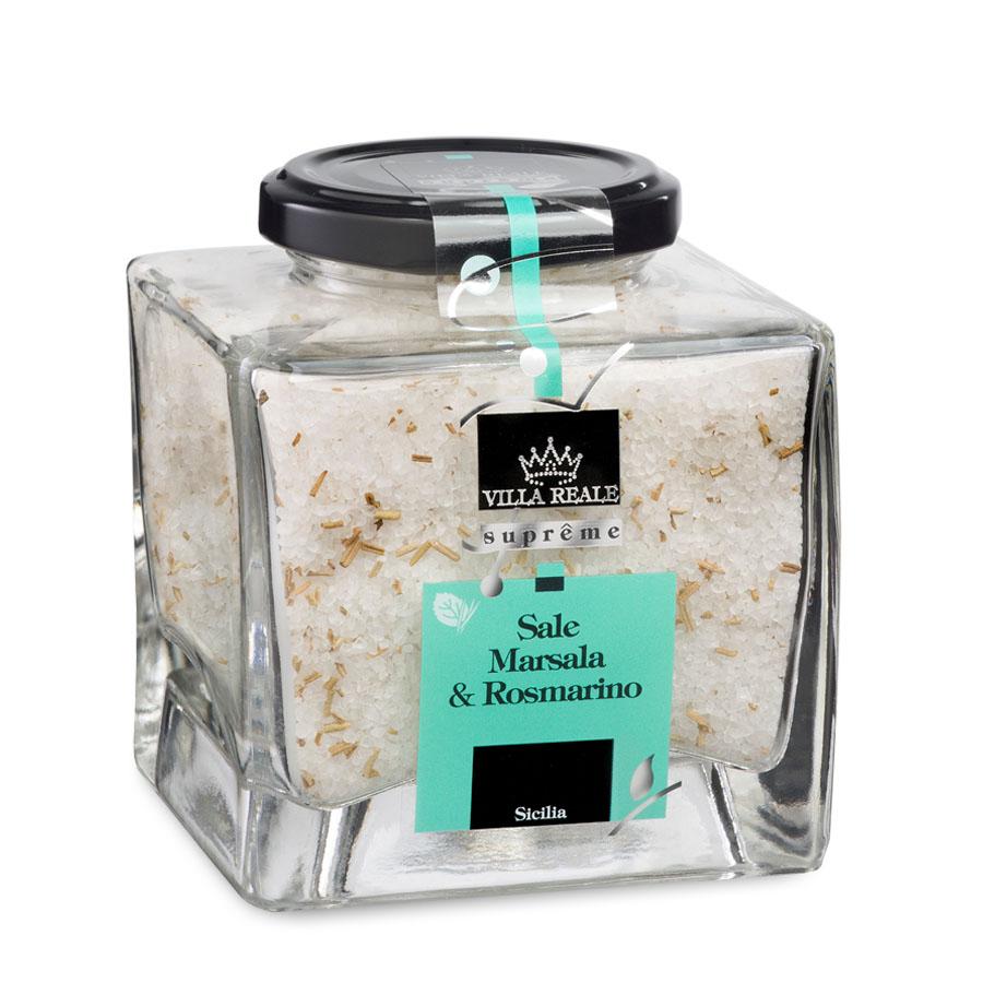 Marsala & Rosemary Sea Salt (300 gr.)