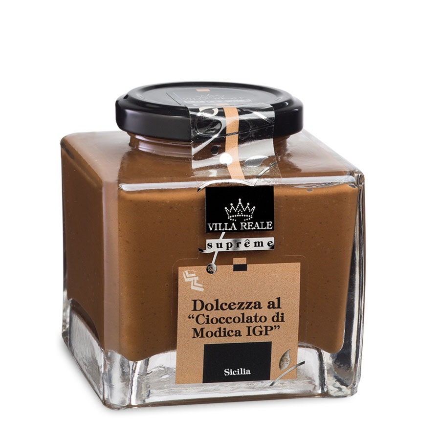 Chocolate Sweet Cream from Modica