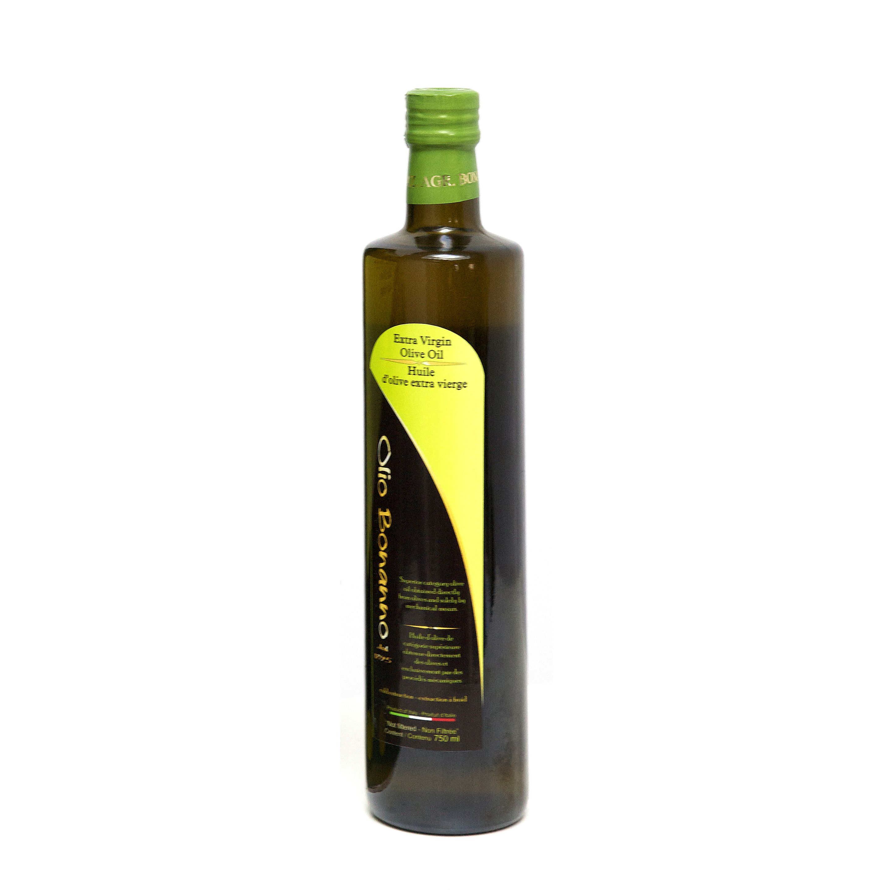 Bonanno Organic Olive Oil (750ml)