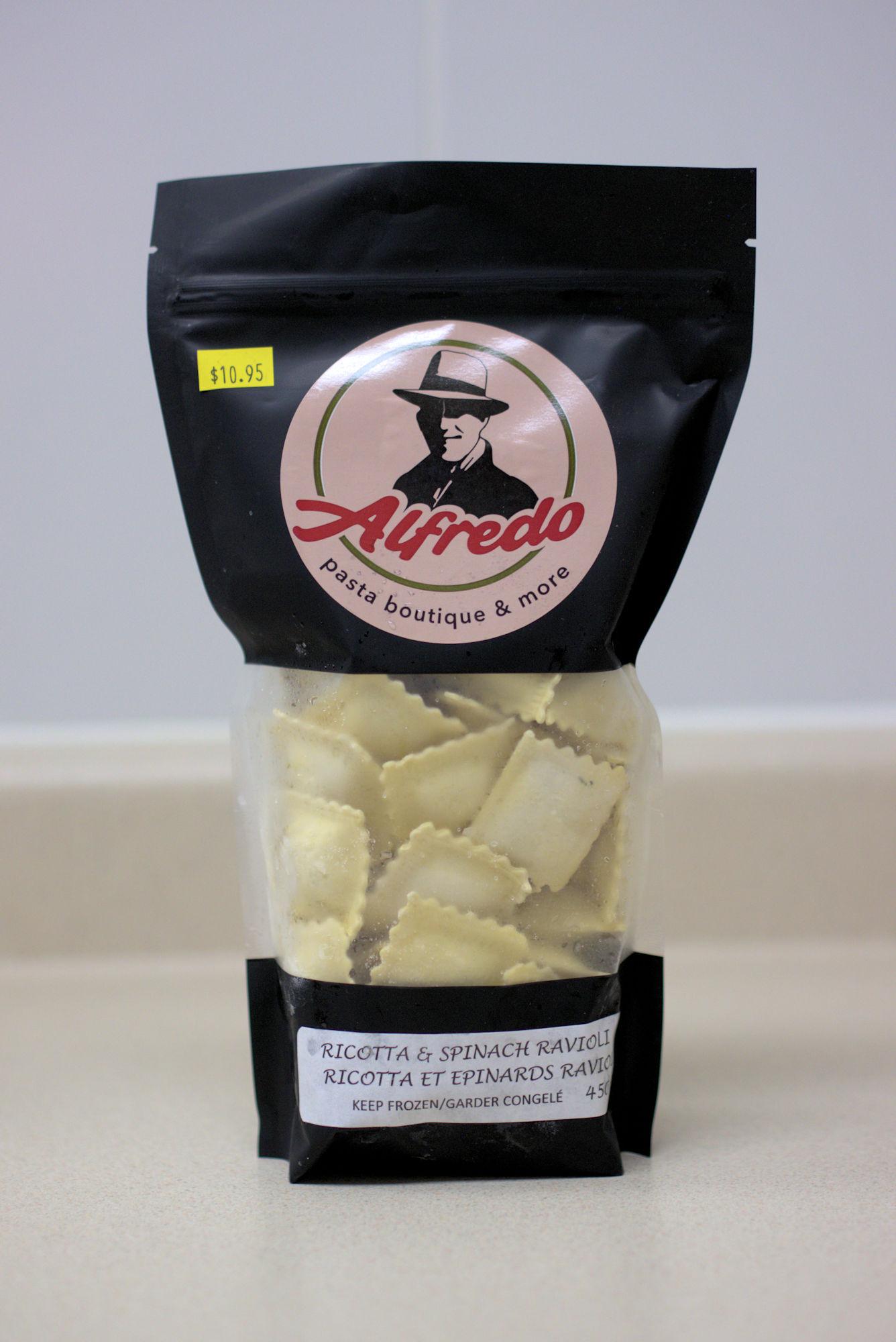 Ravioli - Ricotta & Spinach