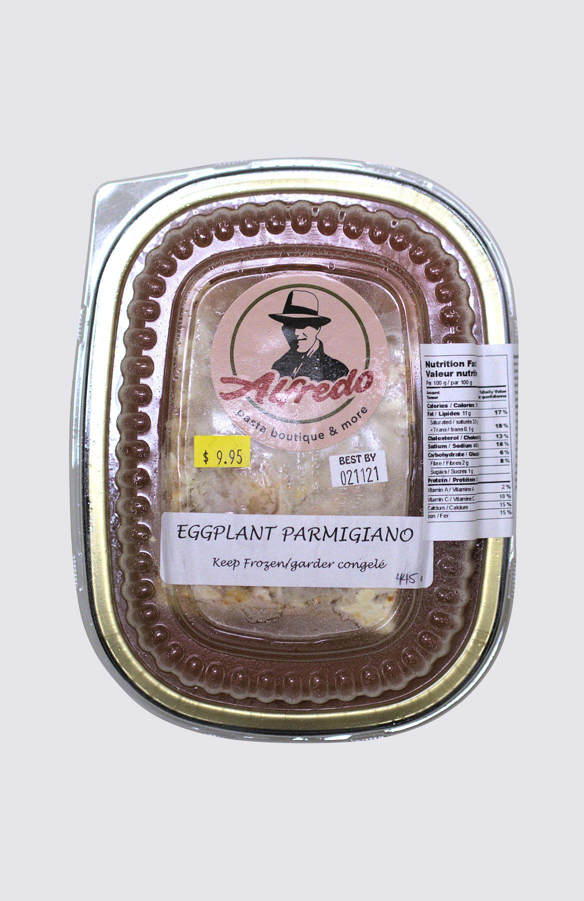 Eggplant Parmigiano - single