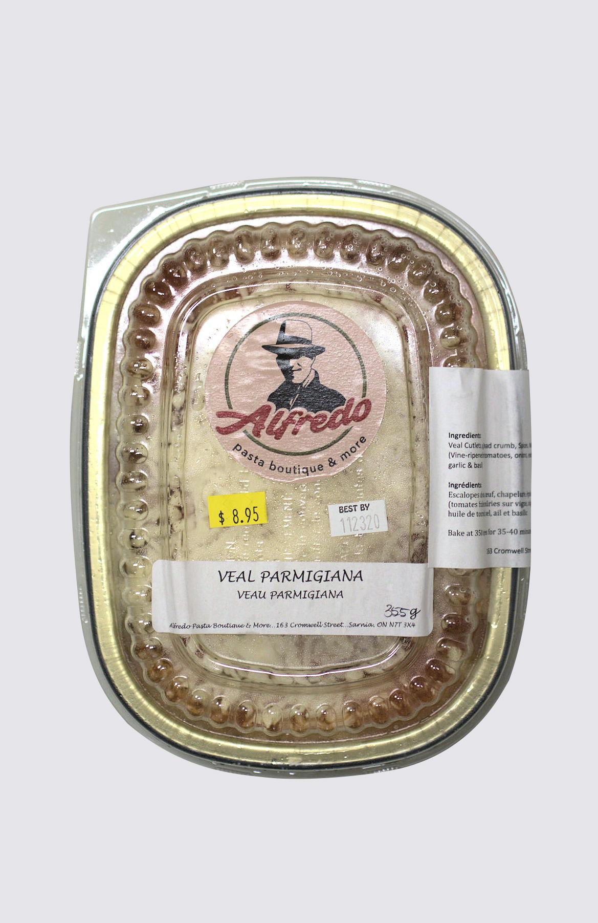 Veal Parmigiana - single