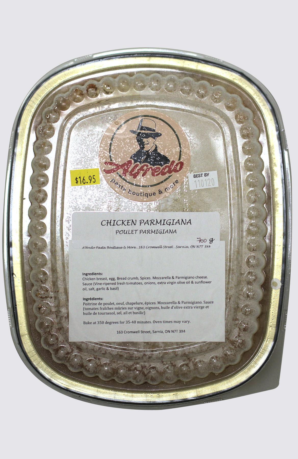 Chicken Parmigiana - large